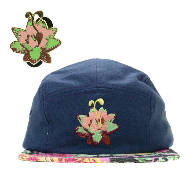 Lotus Sprout Hat and Pin Combo Pack - Grassroots California - 1
