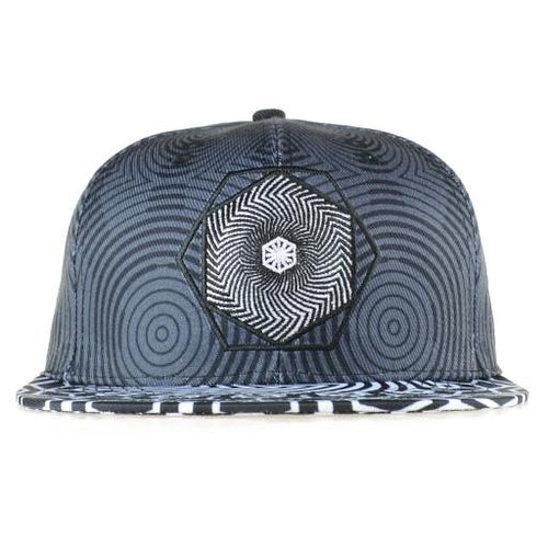 Cassady Bell Squiggle Snapback - Grassroots California - 1
