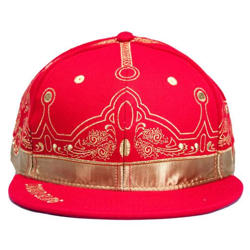 Caver Jewelry Crown Bling Red Fitted