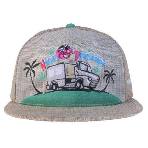 Cheech & Chong Nice Dreams Tan Snapback