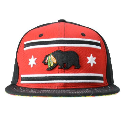 Chi Bear 2016 Hawks Red Fitted