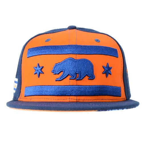 Chi Bears 2016 Orange Snapback - Grassroots California - 1
