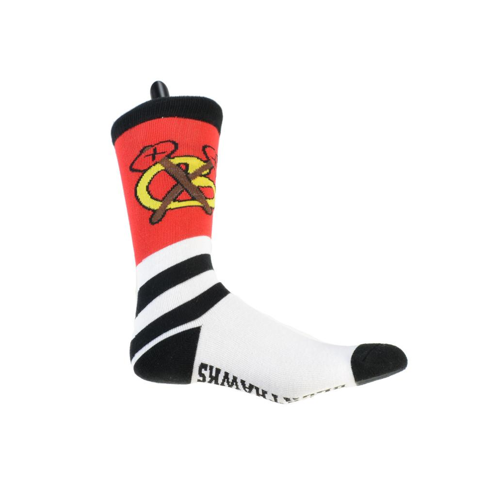 Chicago Blunthawks Knit Socks