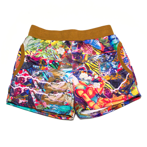 Chiller Shorts - Womens Cosmic Diamond Party - Grassroots California