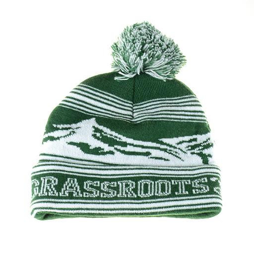 College Colorado Mountain Green Beanie