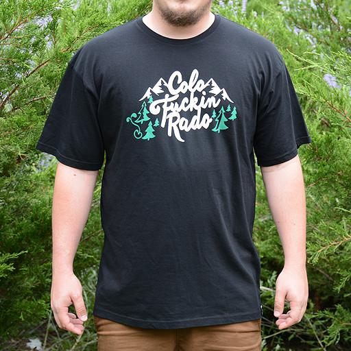 ColoFuckinRado Black T-Shirt - Grassroots California