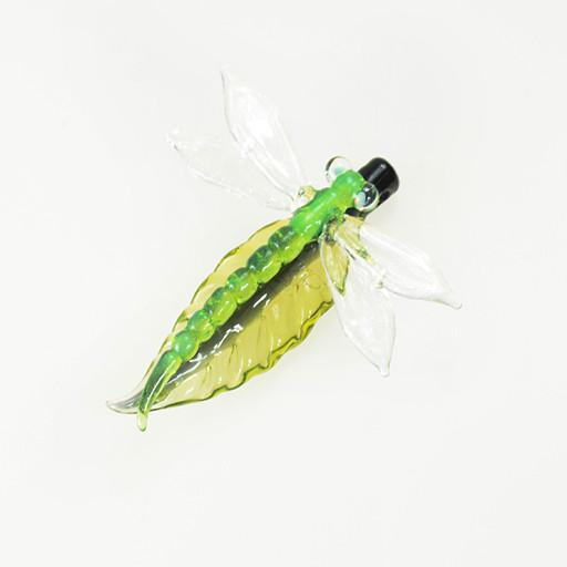 Darby Dragonfly Glass Pendant