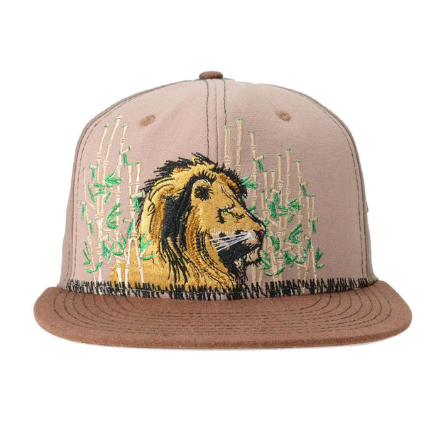Darby Lion Brown Fitted - Grassroots California