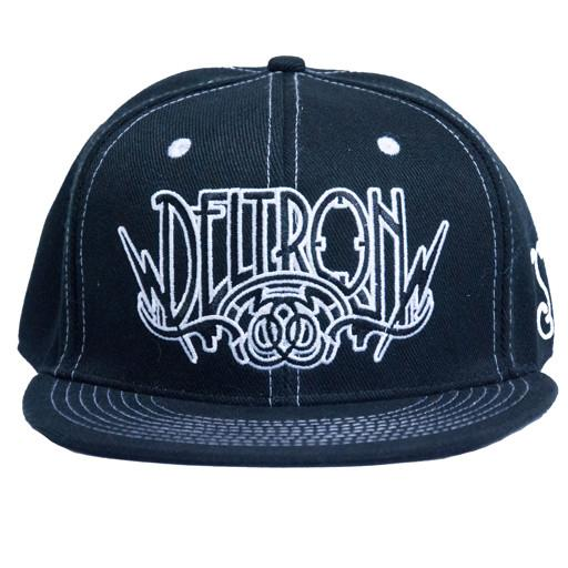 Deltron 3030 V2 Black/White Fitted - Grassroots California