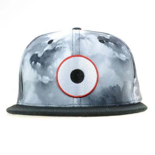 Down Neck Glass Sky Snapback