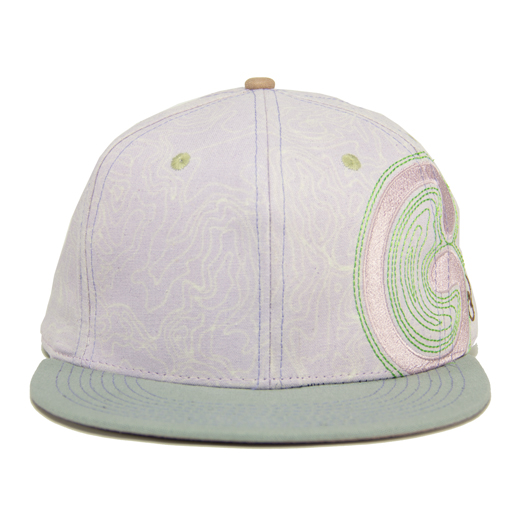 Elevator Humboldt Light Purple Fitted - Grassroots California