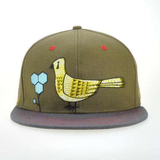 Eminence Ensemble Green Snapback