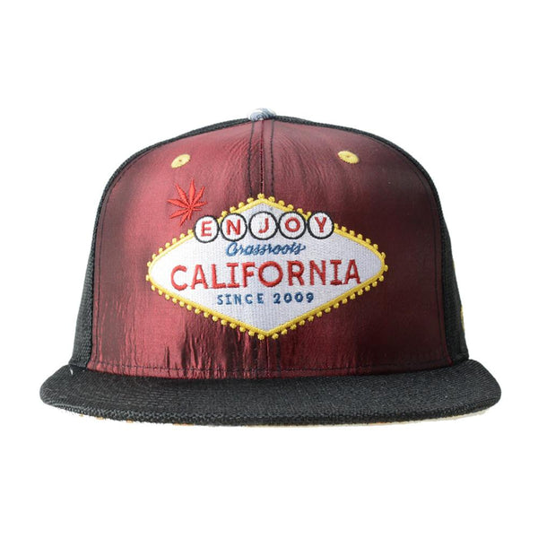 Enjoy California Lenticular Snapback - Grassroots California - 1
