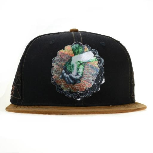 Farm Fest 2015 Black Snapback - Grassroots California - 1