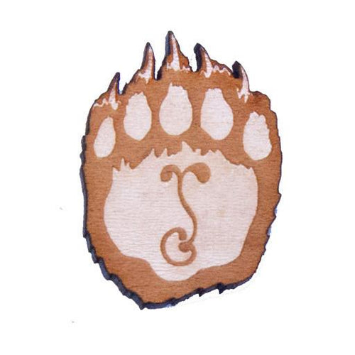 Fat Freddy's Wooden Grizzly G Sprout Paw - Grassroots California