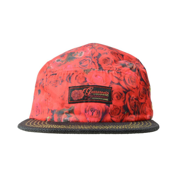 Flamenco Barcelona 5 Panel Strapback - Grassroots California - 1