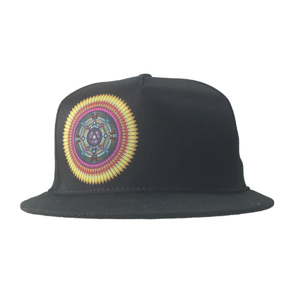 Gem & Jam 2016 Black Shallow Snapback - Grassroots California