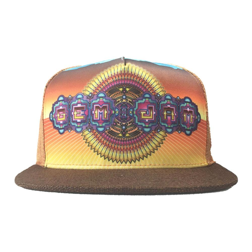 Gem & Jam 2016 Orange Shallow Snapback
