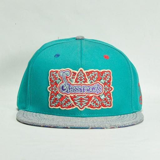 Glassroots 2014 Cyan Fitted