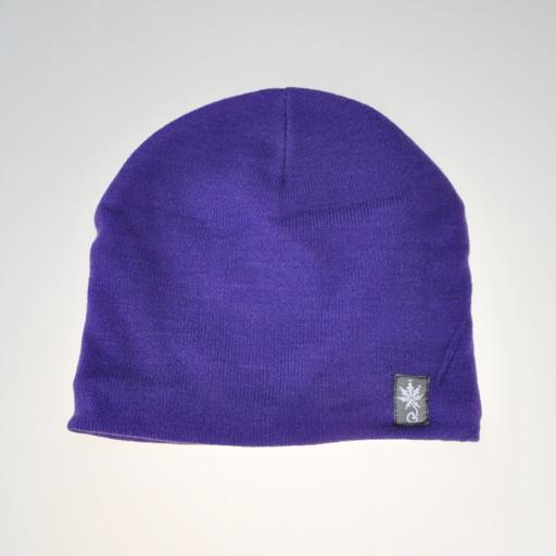 Grassroots Basic Beanie 2015 Purple