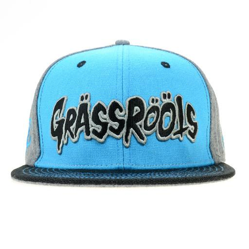 Grassroots Primal Blue Fitted