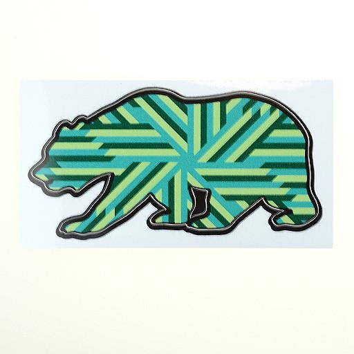 GRC Bear Stickers - Grassroots California - 1