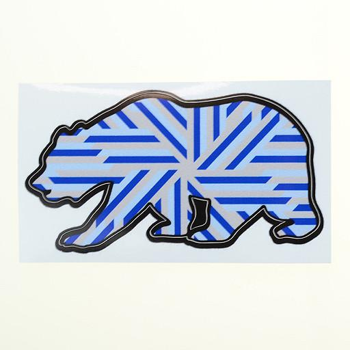 GRC Bear Stickers - Grassroots California - 2