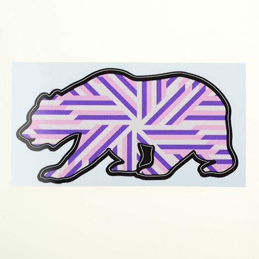 GRC Bear Stickers - Grassroots California - 3