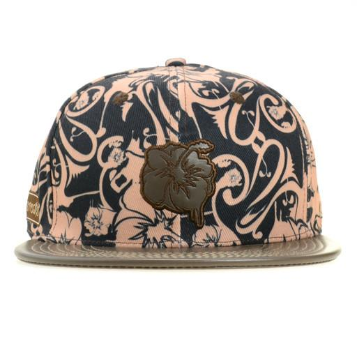 GRC Drippy Floral Brown Fitted