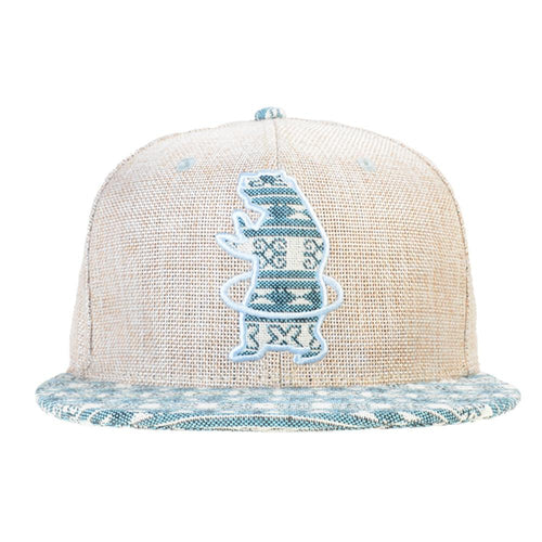 Hularoots Tan Aztec Fitted - Grassroots California - 1