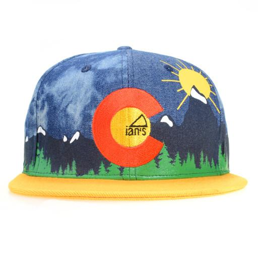 Ians Pizza CO Denim Strapback