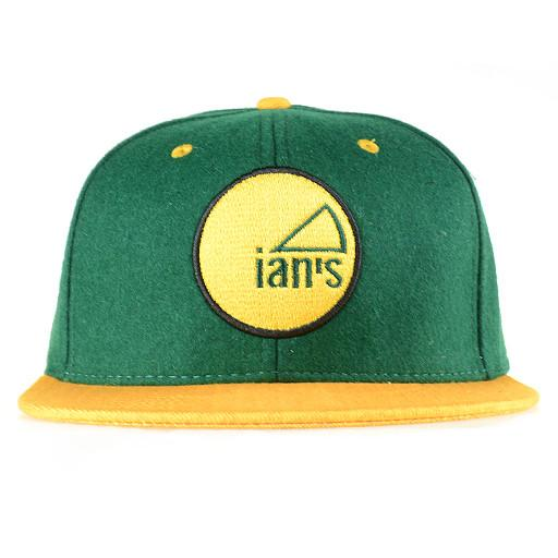 Ians Pizza Green Wisconsin Snapback - Grassroots California - 1