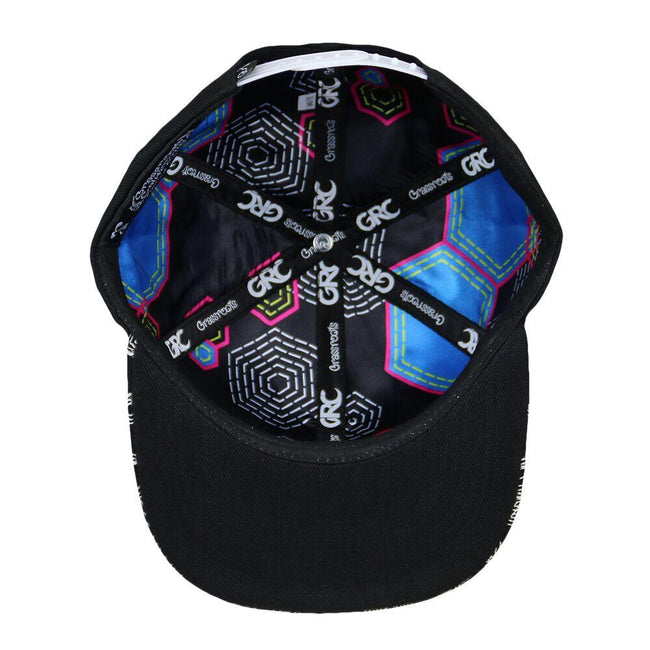 Lost Dino Black Snapback Hat