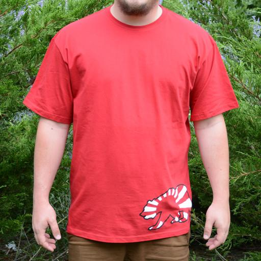 Japan Bear Side Red T-Shirt - Grassroots California