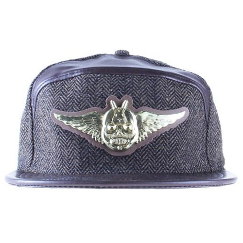 Jeremy Fish 6 Panel Metal Fitted - Grassroots California - 1