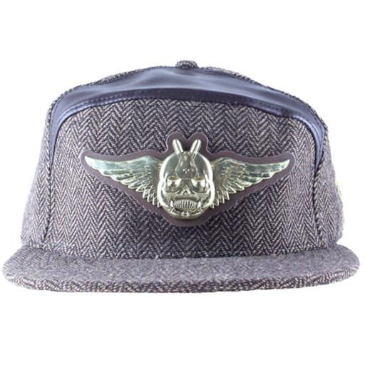 Jeremy Fish 6 Panel Metal Strapback