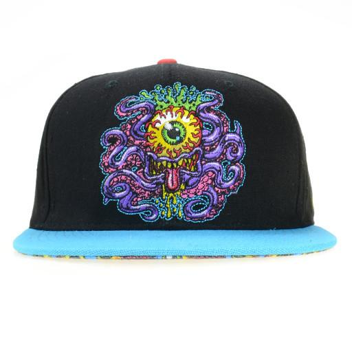 Jimbo Phillips Octopus Black Snapback