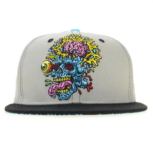 Jimbo Phillips Skull Gray Snapback