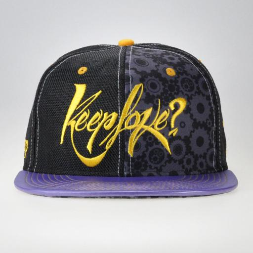 Keeplove Purple Strapback