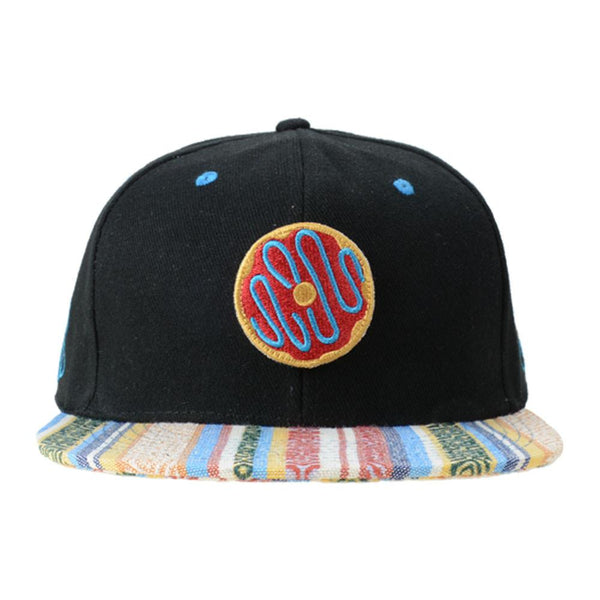KGB Removable Donut Black Andes Snapback - Grassroots California