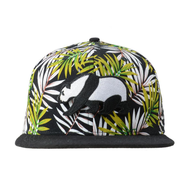 Kids removable panda green palm tree strapback gr2955 img a grande