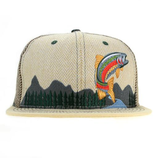 Kitchen Dwellers Tan Snapback - Grassroots California - 1