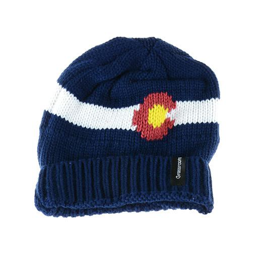 Knit Colorado Flag Beanie - Grassroots California