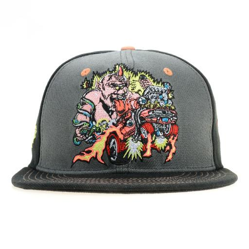 Lollapalooza 2015 Monster Black Snapback