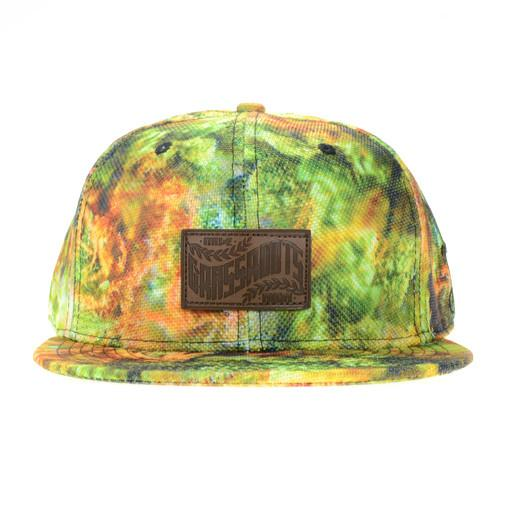 Macro Weed Green Brown Fitted - Grassroots California