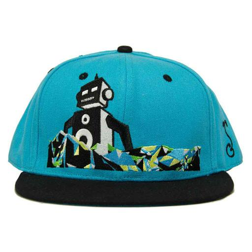 MASSV Music Festival 2013 Blue Black Bill Fitted - Grassroots California