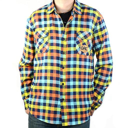Men's Rainbow Flannel - Grassroots California