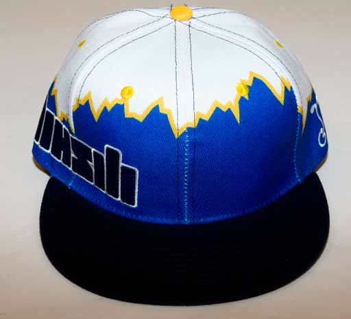 MHSM Blue Fitted