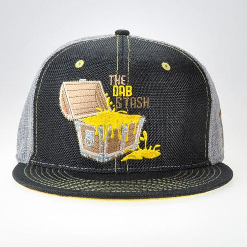 Dab Stash Gray and Black Fitted - Grassroots California