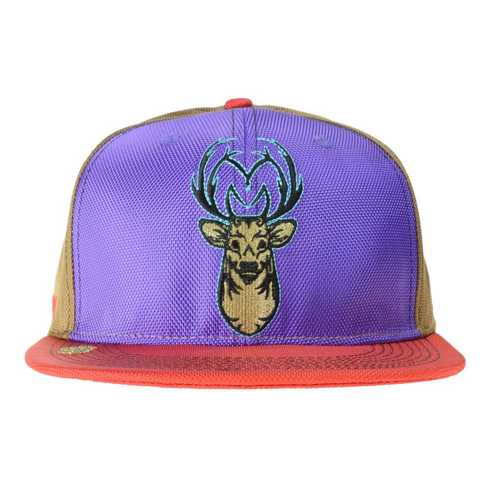 Minnesota V3 Deer Purple Strapback